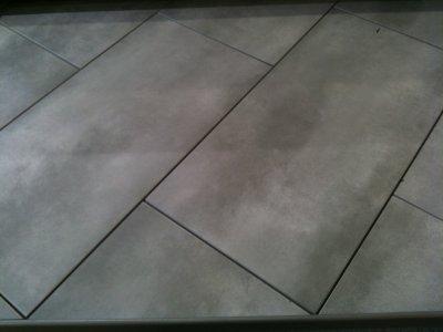 Les mat riaux choisis enfin si on ne change for Joints de carrelage exterieur
