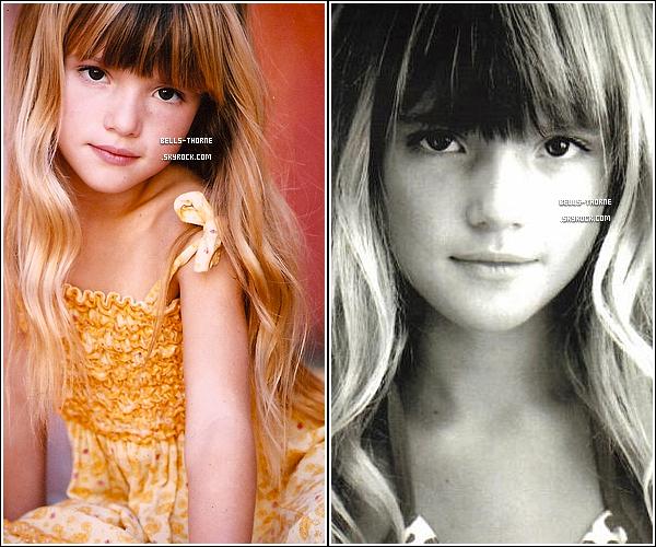 - Redécouvrez un photoshoot de Bella .T fait par sa mère Tamara Thorne, lorsqu'elle était petite ! -