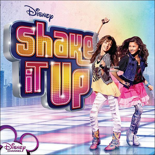 - ____- • SHAKE IT UP- ________La nouvelle série incontournable de Disney ! - Shake It Up est une série télévisée américaine créée par Chris Thompson et diffusée depuis le 7 novembre 2010 sur Disney Channel USA. Elle est diffusée en France depuis le 20 avril 2011 sur Disney Channel France, et sur NRJ 12 à partir du 8 mai 2011. - ______Synopsis.. Dans Shake It Up, Raquel (alias Rocky) Blue [ Zendaya Coleman ] et Cecilia (alias Cece) [ Bella Thorne ] deux jeunes filles de treize ans, partagent le même rêve : devenir danseuses professionnelles. Un rêve qui devient réalité lorsqu'elles sont choisies pour pratiquer leur passion sur le plateau d'une émission très populaire, « Shake It Up Chicago ». Rocky est, comme on dit, une intello et CeCe est tout le contraire : c'est un véritable cancre. Mais, même si elles sont différentes en tout point, elles habitent dans le même immeuble et sont les meilleures amies du monde depuis toujours ! Elle font tout ensemble leurs courses, leurs voyages... elles partagent la même vie. - Connais-tu cette serie ? La regardes-tu ?  Quel est ton personnage préféré ? Exprime toi ! -