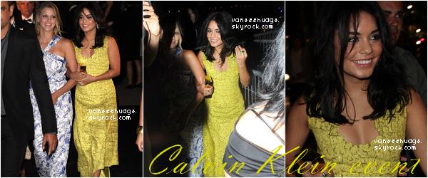 -  Jeudi 12 & vendredi 13 mai : Vanessa au Baoli Night Club, à l'event Calvin Klein et  elle a assisté à la F *** Me I'm Famous de Cathy & David Guetta à Cannes la même nuit que l'évent Calvin Klein. TOP/BOF/FLOP la robe ?-