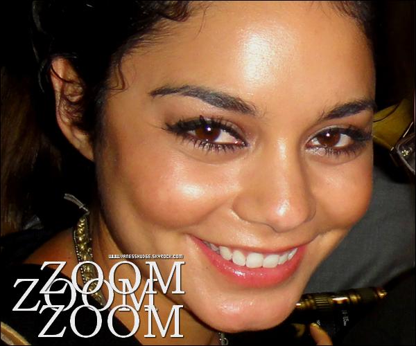 -  07/08/11 : Vanessa est allée soutenir  Corbin Blue à l'Hollywood Bowl où il joue le rôle de Seaweed dans Hairspray. D'autres célébrités comme  Ashley Tisdale,  Perez Hilton et  Haylie Duff étaient présents. Pas de photos de Ashley & Nessa disponibles !-