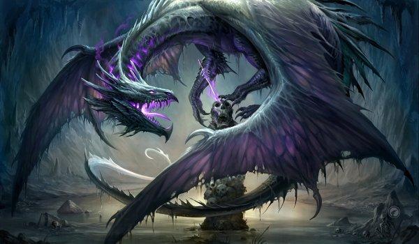 La légende d'Aranwé, le dragon zombie
