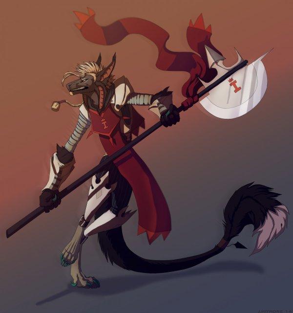 Kery, le mercenaire sauvageon