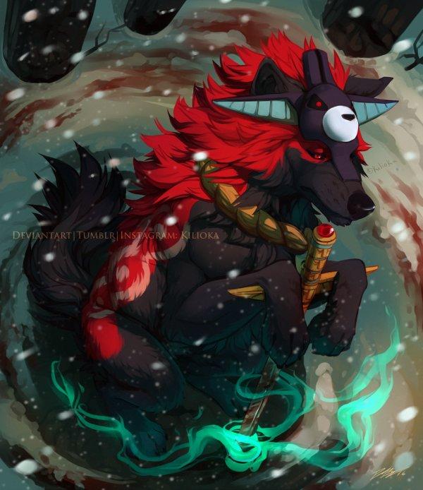Hô-Hokami, le Roi des loups