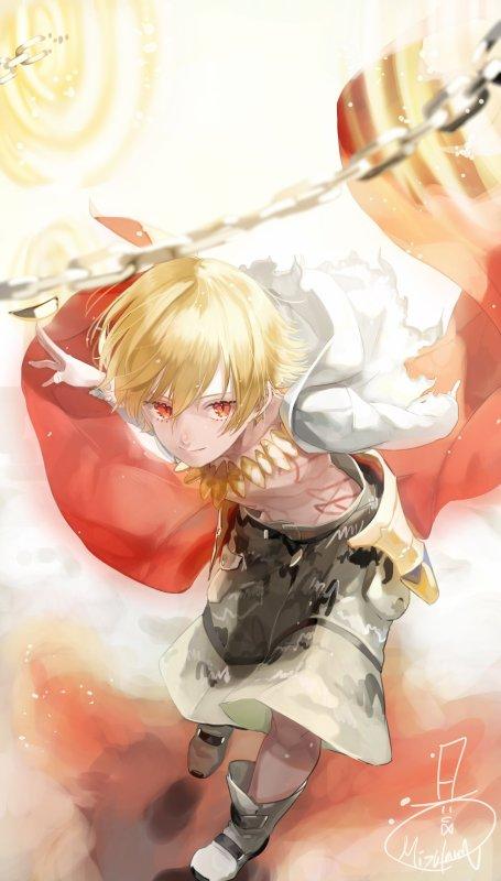 Ryuu Hakari, le prince de la lumière
