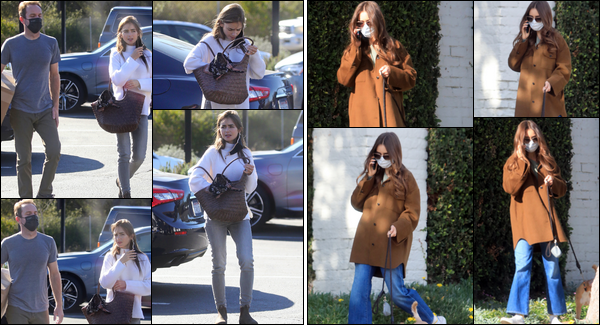 ● 13.01.2021 : Recycling center and walking her dog in Los Angeles