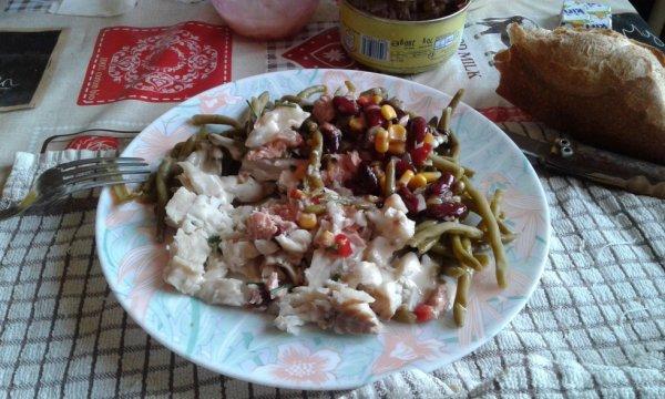 Salade de RETOUR  !!
