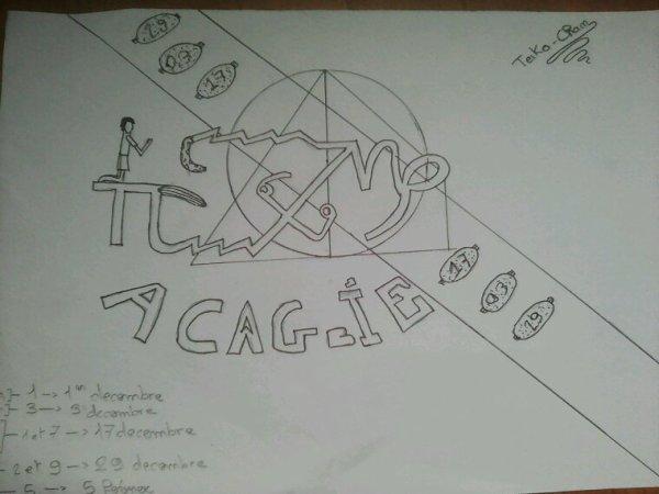 L'embleme du WLTA4CDLM69031729, Acagbie ,notre signe astrologique