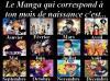 Petit jeu 3 ~ Le Mangas qui correspond à ton mois de naissance est...