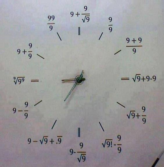 Photo du jour n°9, j'ai cette horloge xD