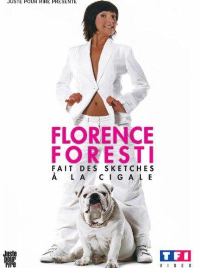 Florence Foresti fait des sketches