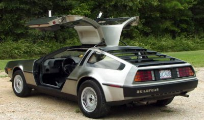 La Delorean DMC-12.