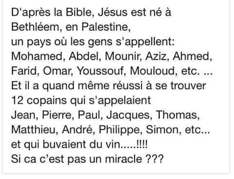 Miracle ???