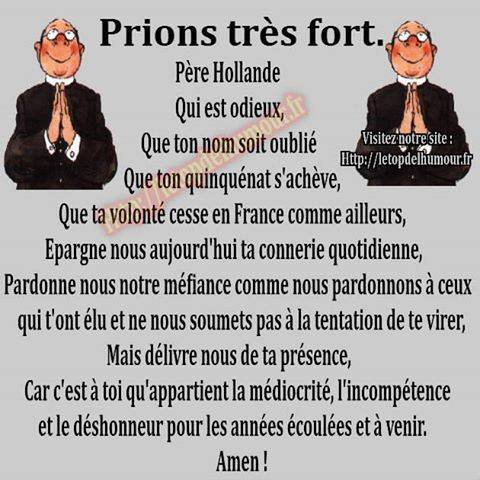 Prions tous tres fort