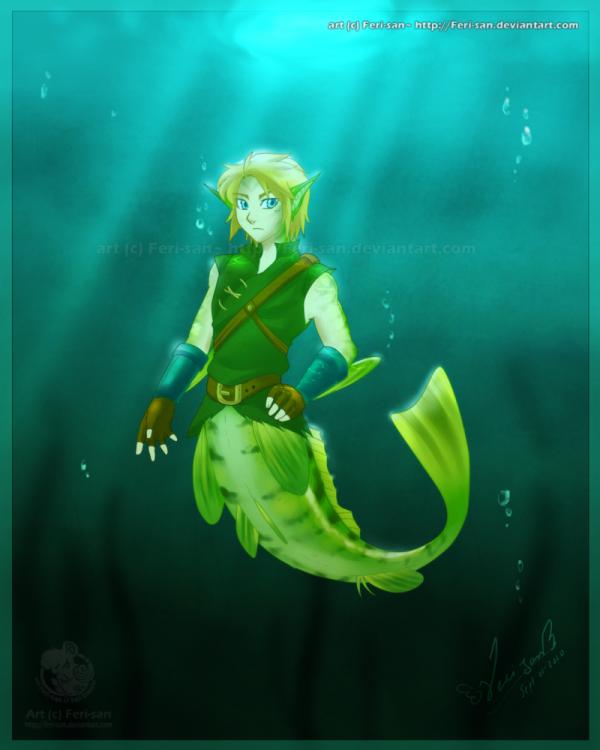 Link en poisson