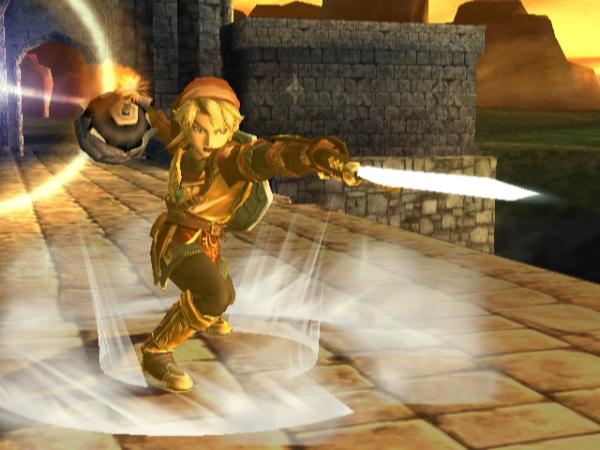 Link en armure magique