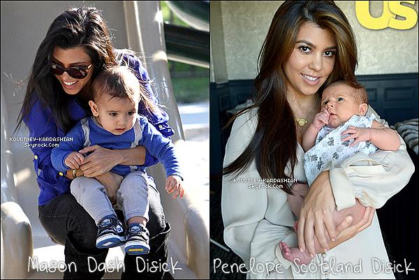""".  . Kourtney Kardashian et Scott Disick attendent leur 3e enfants ensemble ! .  . A de nombreuses reprises, la rumeur d'une troisième grossesse était lancé sur internet et s'avérait être fausse. Mais depuis peu la rumeur était de nouveau lancée, sauf que cette fois ci elle s'avére être vraie ! Le 08 juin, on découvre dans la télé-réalité de la famille Kardashian : Keeping Up With The Kardashians que Kourtney, l'ainée attend son troisième enfants avec son partenaire de longue date : Scott Disick, père de ces deux autres enfants. Kourtney annonce alors à sa famille qu'elle enceinte, mais que ce n'était """"pas du tout prévue"""". Le couple a ainsi rajouter qu'ils ne souhaitaient pas savoir le sexe du bébé. Et que celui-ci serait attendu pour décembre 2014. Un magnifique cadeau de noel pour le couple et la famille. . (c) - Kourtney-Kardashian.Skyrock.Com"""