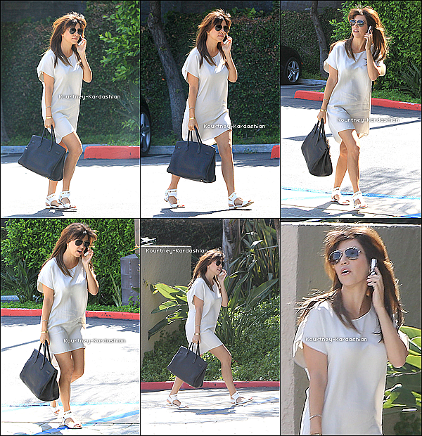 . 13.05.13 :  Kourtney et Scott quittant le restaurant Stanley de Sherman Oaks. .