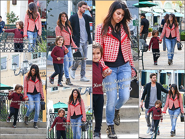 . 22/02/14 :  Kourtney & Scott sortant de l'appartement de Kanye West à New York. .