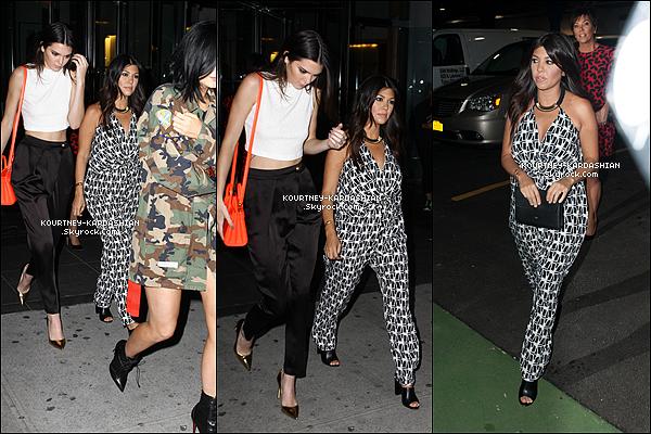 * 23/06/14 : Maman Kourtney déjeunant avec Khloé et des amies à Beverly Hills avant de se rendre à Dash.*