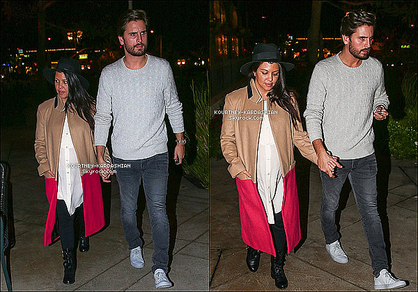 01 12 14 kourtney et son amoureux arrivant d ner en for Kings fish calabasas