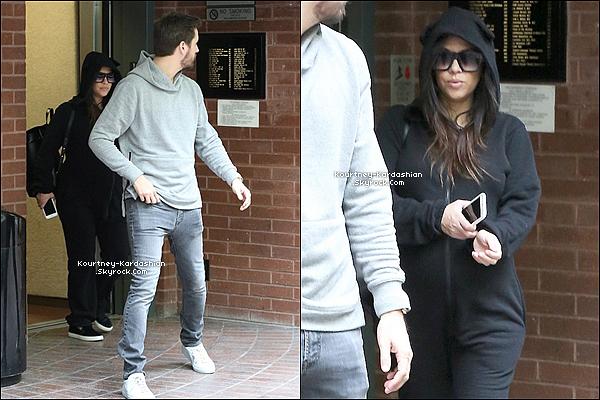 10/12/14 : Le couple, assez froid, quittait un restaurant dans Beverly Hills ce mercredi.