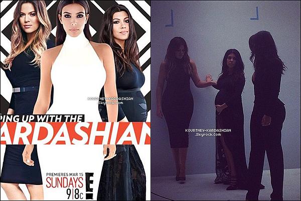 CANDID | EVENT | SHOOTING | INSTAGRAM | EMISSION | AUTRES   Découvrez la première photo promotionelle de « Keeping Up With The Kardashians  » saison 10.Découvrez également une première image exclusive et la promo pour la saison 10 qui débute dans 2 jours aux USA.