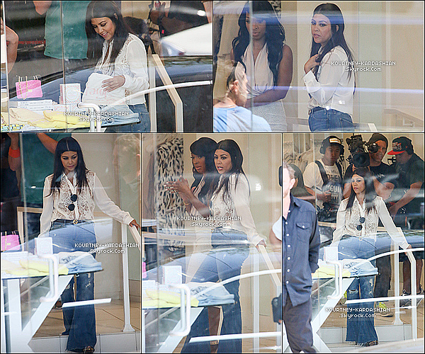 12/05/15 : K', Scott et Mason allant au magasin Dash de West Hollywood suivi par les caméras de KUWTK. La belle était craquante dans sa tenue casual. Maman Kourt est de retour au travail. Le tournage de KUWTK a donc commencé POSTED BY CINDY ON MAY 16TH 2015