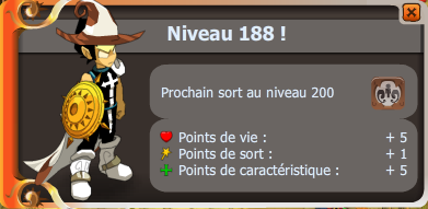 Up 188 !