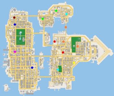 Aider les 8 passants dans GTA Chinatown Wars