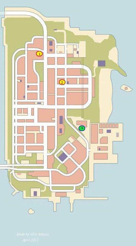 """Missions """"Cachées"""" de GTA 3"""