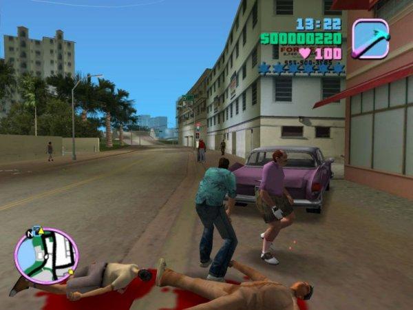 Les Rodéos de GTA Vice City
