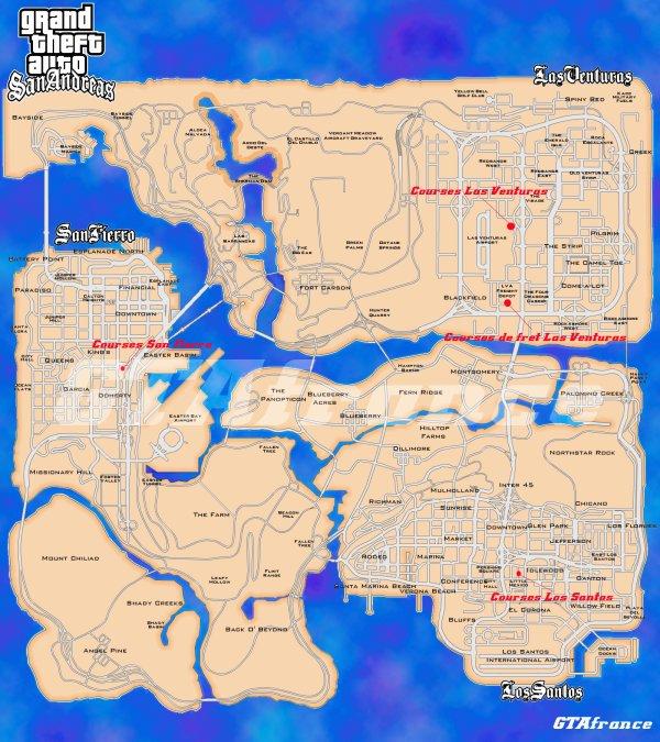 Les Courses Infernales de GTA San Andreas