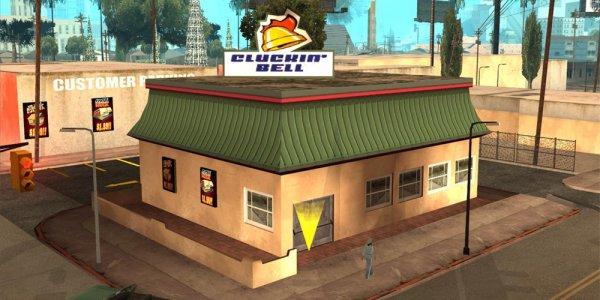 Se nourrir dans GTA San Andreas