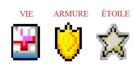 Localisation des Vies, Armures et Étoiles de GTA Advance