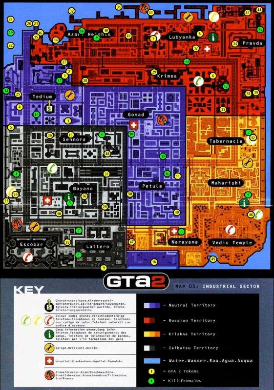 Cartes des logos GTA 2 et des rodéos (Kill frenzies)