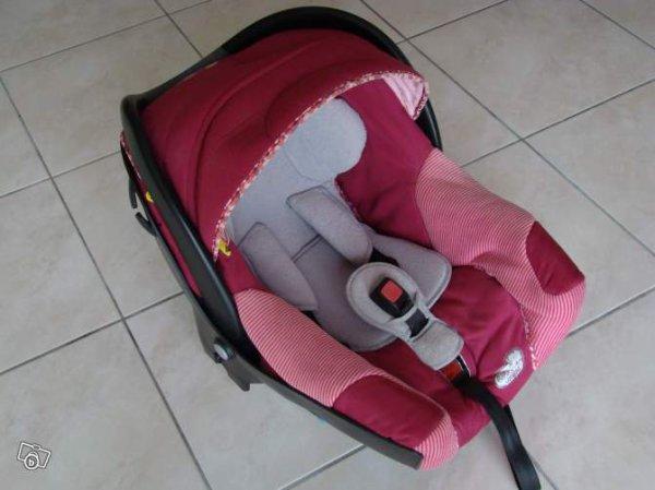 siege auto creatis rose camelia plus habillage pluie 60e vetement et equipement bebe dans le 31. Black Bedroom Furniture Sets. Home Design Ideas