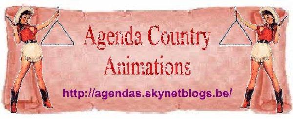 Agenda des soirées et festivals Country en B...F et NL