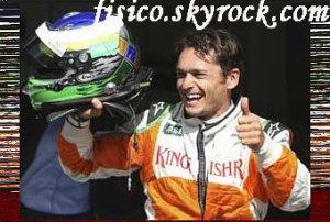 Grand Prix de F1 de Belgique 2009 : Giancarlo Fisichella et Force India en pole
