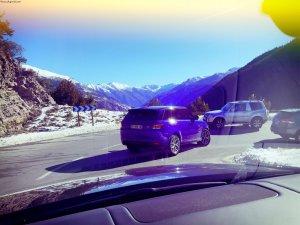 Giancarlo FISICHELLA au volant du SVR avec Land Rover Nice – Cannes – Monaco