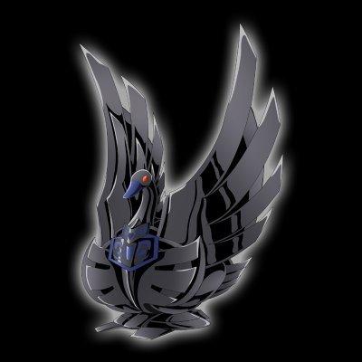 L'Armure Noir du Cygne Noir Ramener de L'île de la Mort