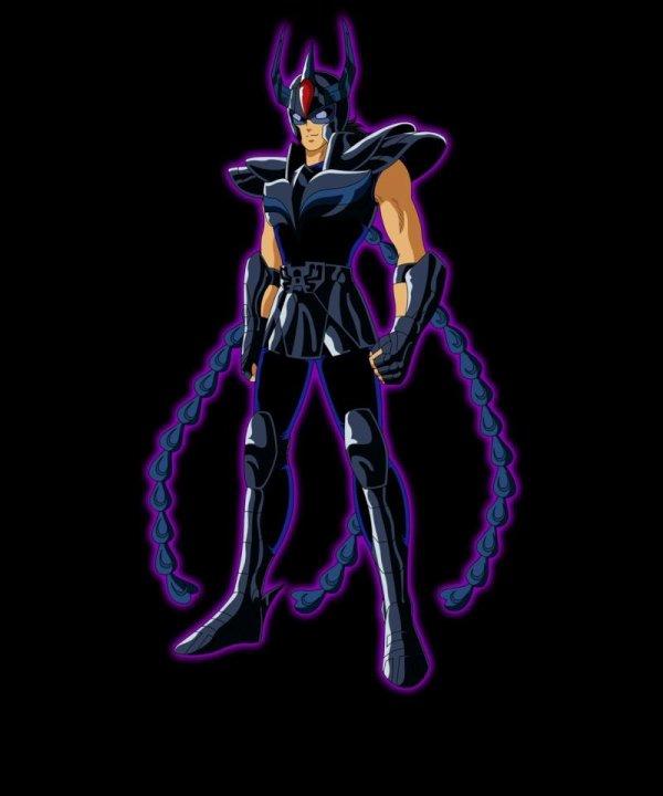 Phoenix Noir Chevalier Noir de L'île de la Mort au Ordre d'Ikki