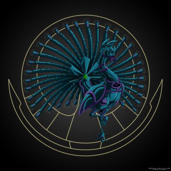 L'Armure D'Argent du Paon porté par Shiva