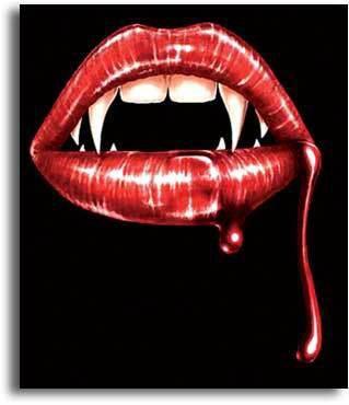 Bouche vampire