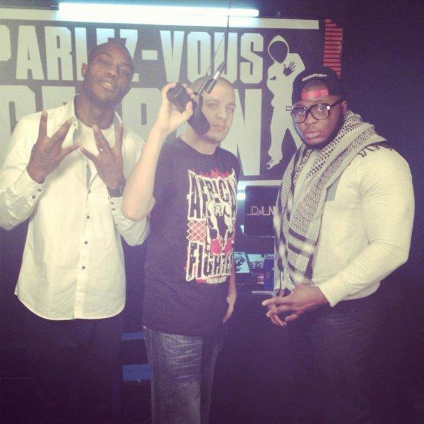 """Green Money Et Gucci IG dans l'émission """" Parlez-vous Cefran"""" M6 Music Black"""