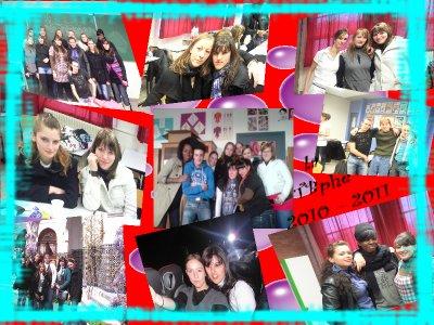 LA TERMINALE  BAC PRO 2010 / 2011