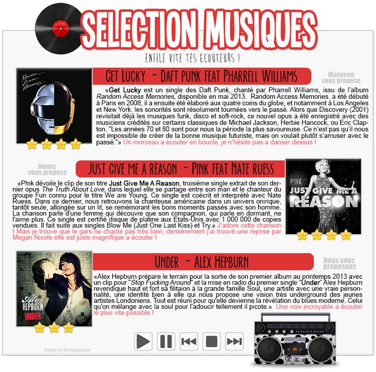 Selection musiques