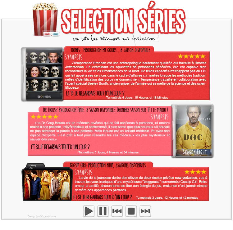 Selection séries