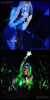 Avril Lavigne perd sa voix en concert à Londres le 22 Septembre 2011 !