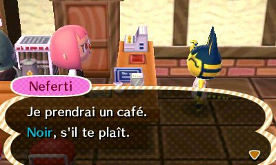 10 07 2013 1ere jour de travaille au caf kyoko acnl - Animal crossing new leaf salon de detente ...